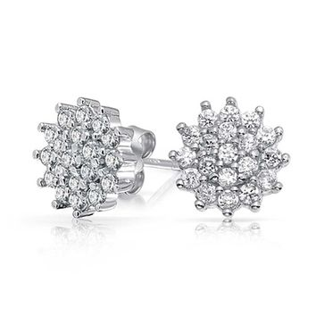 Bling Jewelry Royal Crown Studs