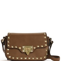 Sale-brown Studded Cross Body