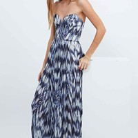 Kimchi Blue Daydream Pleated Maxi Dress in Blue - Urban Outfitters