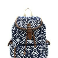 COB & PEN Aztec Pattern Back Pack