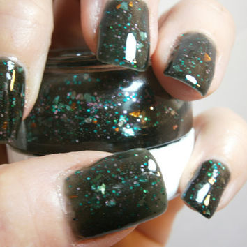 Poison Ivy Nail Lacquer Whimsical Green by WonderBeautyProducts