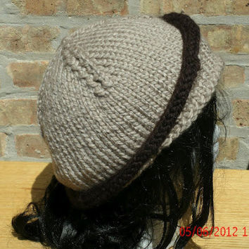 Hand knit Hat - The City Cloche - Woman's Hat - Fall, Winter Accessories