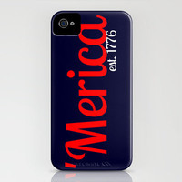 Thankful for 'Merica iPhone Case by Jordan Virden | Society6