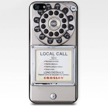 Public phone pay phone white pay iphone case,ipod case,samsung galaxy case available plastic and rubber case B007