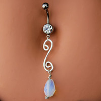 LAST ONE Belly Ring / Navel Jewelry / Navel Ring by RockYourBelly