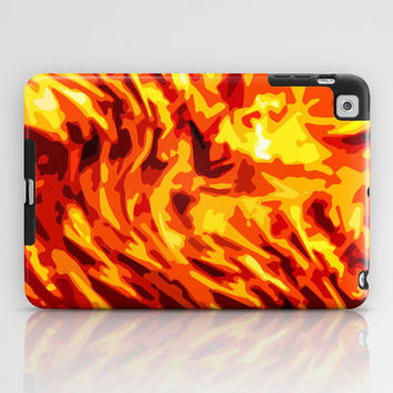 AFLAME iPad Case by catspaws