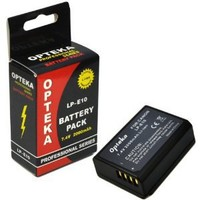 Opteka LP-E10 LPE10 2000mAh Ultra High Capacity Li-ion Battery Pack for Canon EOS Rebel T3 T5 1100D 1200D Kiss X50