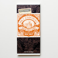 World Market Sea Salt and Curry Milk Chocolate Bar