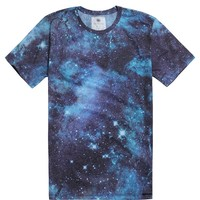 On The Byas Russell Cosmic T-Shirt - Mens Tee - Blue -