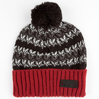 Nike Sb Warmth Pack Beanie Black/Red One Size For Men 24580012601