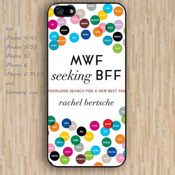 iPhone 6 case dream bff case colorful iphone case,ipod case,samsung galaxy case available plastic rubber case waterproof B179