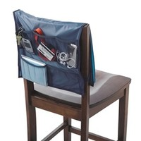 Navy Comfort Chair Organizer - Dorm study accessory supplies for college college products dorm study necessities dorm study stuff