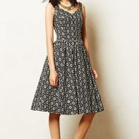 Cambria Dress by Anthropologie Black Motif