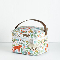 ModCloth Woodland Creature Woods You Join Me? Lunch Box