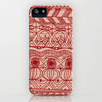 Cranberries and Cream iPhone & iPod Case by Catherine Holcombe