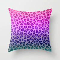 Wild Thing Throw Pillow by Ally Coxon | Society6