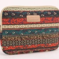 Kinmac New Bohemian Canvas Fabric Laptop Sleeve 13 / 13.3 Inch for Macbook Pro 13/macbook Air 13 and Laptop Case 13.3 Inch Dell/hp/lenovo/sony/toshiba/ausa /Acer/samsung Laptop Bag