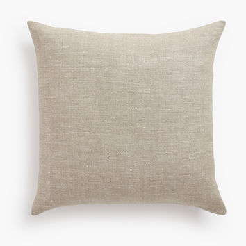 Belgian Linen Pillow Cover - Oatmeal