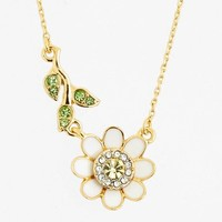 Juicy Couture 'Juicy in Bloom' Daisy Pendant Necklace