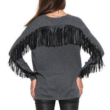 taos fringe pullover - pullovers