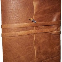 Travelers Leather Journal in Primitive by tiffanyewingdesigns