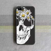 iPhone 5 case , iPhone 5S case , iPhone 5C case , iPhone 4S case , iPhone 4 case , Flower Skull