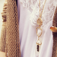 Crystal Fortune Necklace