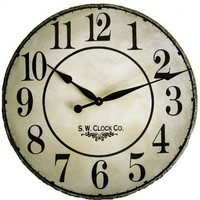 24 inch French Grand Gallery Large Wall Clock by Klocktime