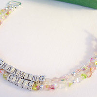 Charming & Chic Double Strand Multi Faceted by SimplyShop323