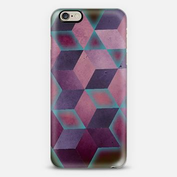 Blue Pops on Purple iPhone 6 case by DuckyB | Casetify