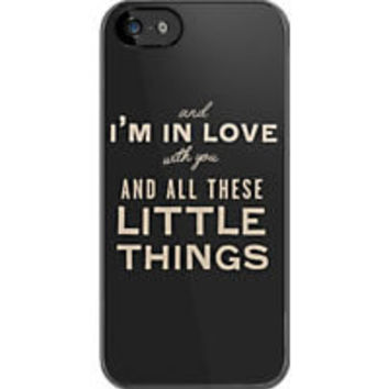 One Direction Little Things iPhone Case