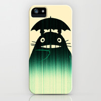 Waiting for you in the rain iPhone & iPod Case by Budi Satria Kwan