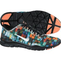 Nike Women's Free 5.0 TR FIT PRT 4 Training Shoe - Black/Mango/ Silver | DICK'S Sporting Goods