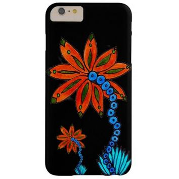 Flower Drawing iPhone 6 Plus Case