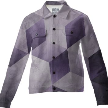 Grape & Gray Jacket created by duckyb | Print All Over Me