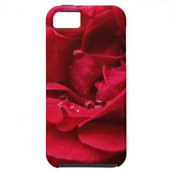 Passion Red Flower iPhone 5 Covers from Zazzle.com