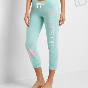 LLD Surf's Up Capri Sweatpants