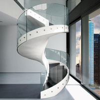 Helical Spiral staircase HELIX Solutions Collection by Casali