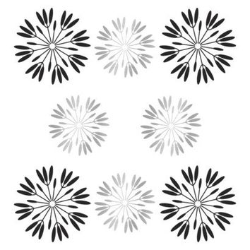 Peel & Stick Reusable Wall Decal - Flowers Pop Daisy