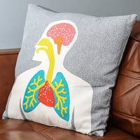 ModCloth Nifty Nerd Here We Go Organ Pillow