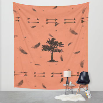 Indian Summer Wall Tapestry by DuckyB (Brandi)