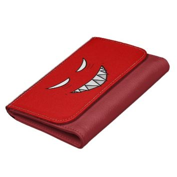 Grinning Face With Evil Eyes Wallets