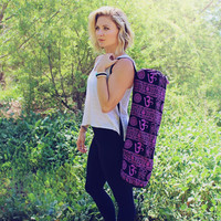 Om Yoga Mat Bag Sling Bag. Yoga Mat Bag. Yoga Bag.