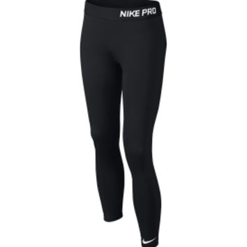 Nike Girls' Pro Core Compression Tights | DICK'S Sporting Goods
