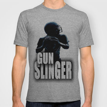 GUN SLINGER T-shirt by Robleedesigns