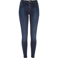 River Island Womens Dark wash Molly jeggings