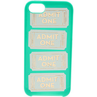 Kate Spade New York Admit One Resin Phone Case for iPhone® 5