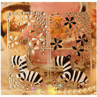 iPhone case, iPhone 4 case, iPhone 4s case, iPhone 5 case, clear iphone 4 cases bling pony, Cute iphone 5 case, Bling iphone 5 case