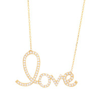 Scripted Love Large Necklace