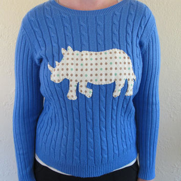 Rhino Sweater